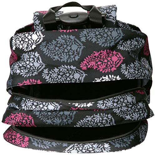Vera Bradley Women s Lighten up Rolling Backpack, Northern Lights ... df43cb7d59
