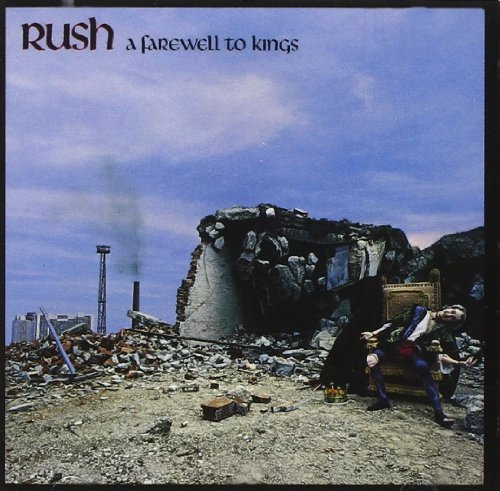 Original album cover of A Farewell to Kings by RUSH