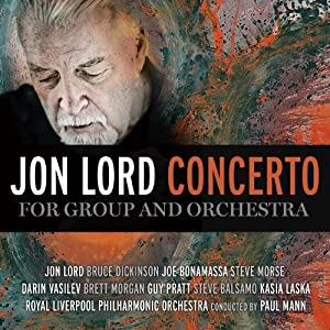 Jon Lord - Concert For Group & Orchestra (CD+DVD) [Japan LTD CD] IEZP-36