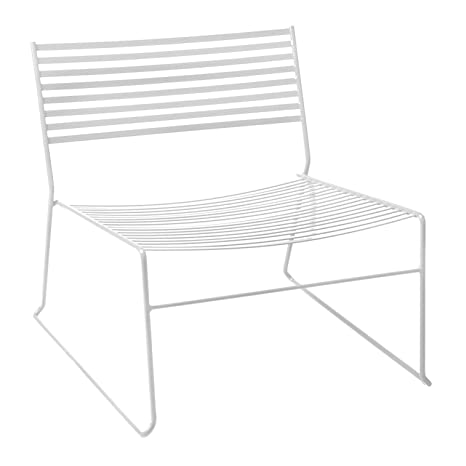 Aero 023 Lounge Armchair white/matt
