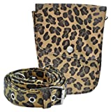Roo Beauty The Snap Leopard Hairdressing Pouch