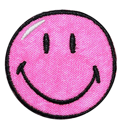 xl-bugelbild-smiley-pink-125-cm-125-cm-aufnaher-gewebter-flicken-applikation-gesichter-smile-emotion