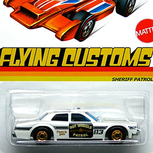 Hot Wheels Flying Customs Sheriff Patrol
