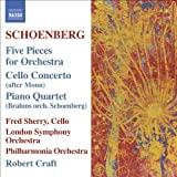 Schoenberg, A.: 5 Orchestral Pieces / Brahms, J.: Piano Quartet No. 1 (Orch. Schoenberg) (Craft) (Schoenberg, Vol. 5)