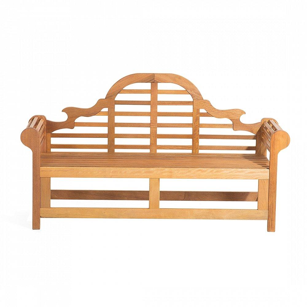 3-Sitzer Gartenbank Muireann Marlboro aus White Balau Holz günstig online kaufen