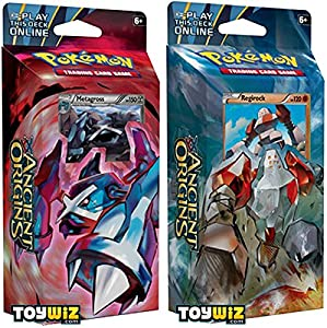 GET BOTH DECKS! Pokemon Ancient Origins XY7 Theme Deck Set - TCG XY Trading Card Game - 120 cards!