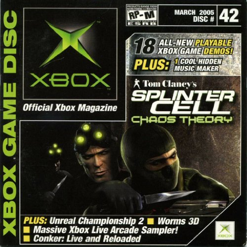 Xbox Game Disc, March 2005, Disc #42, Featuring