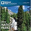2016 Monthly Wall Calendar - National Parks Foundation - by Sourcebooks