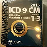 img - for 2015 ICD-9-CM Vol 1-3 for Hospitals, Expert book / textbook / text book