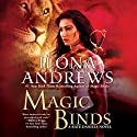 Magic Binds: Kate Daniels, Book 9 Audiobook by Ilona Andrews Narrated by Renee Raudman