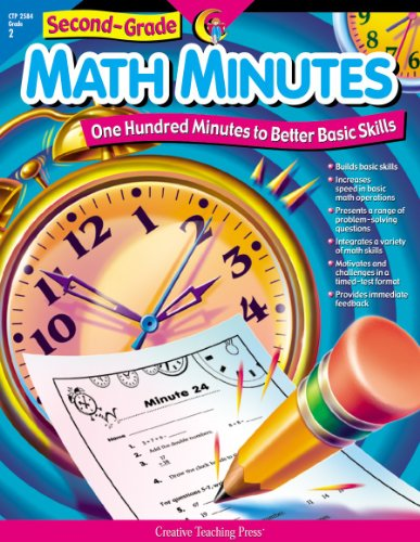 2nd-Grade Math Minutes (One Hundred Minutes to Better Basic Skills)