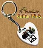 Chickenfoot Keyring Bass Guitar Pick Both Sides Printed