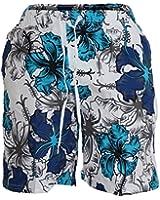 Waooh - Short De Bain Motif Fleurs Style Hawaïen Corantin