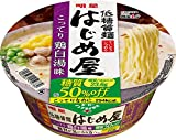 明星 低糖質麺 はじめ屋 糖質50%オフ こってり鶏白湯味 82g×12個