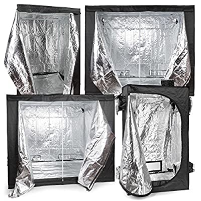 Xen-Lux Premium Indoor Hydroponic Plant Growing Room Tent - Multiple Sizes Available
