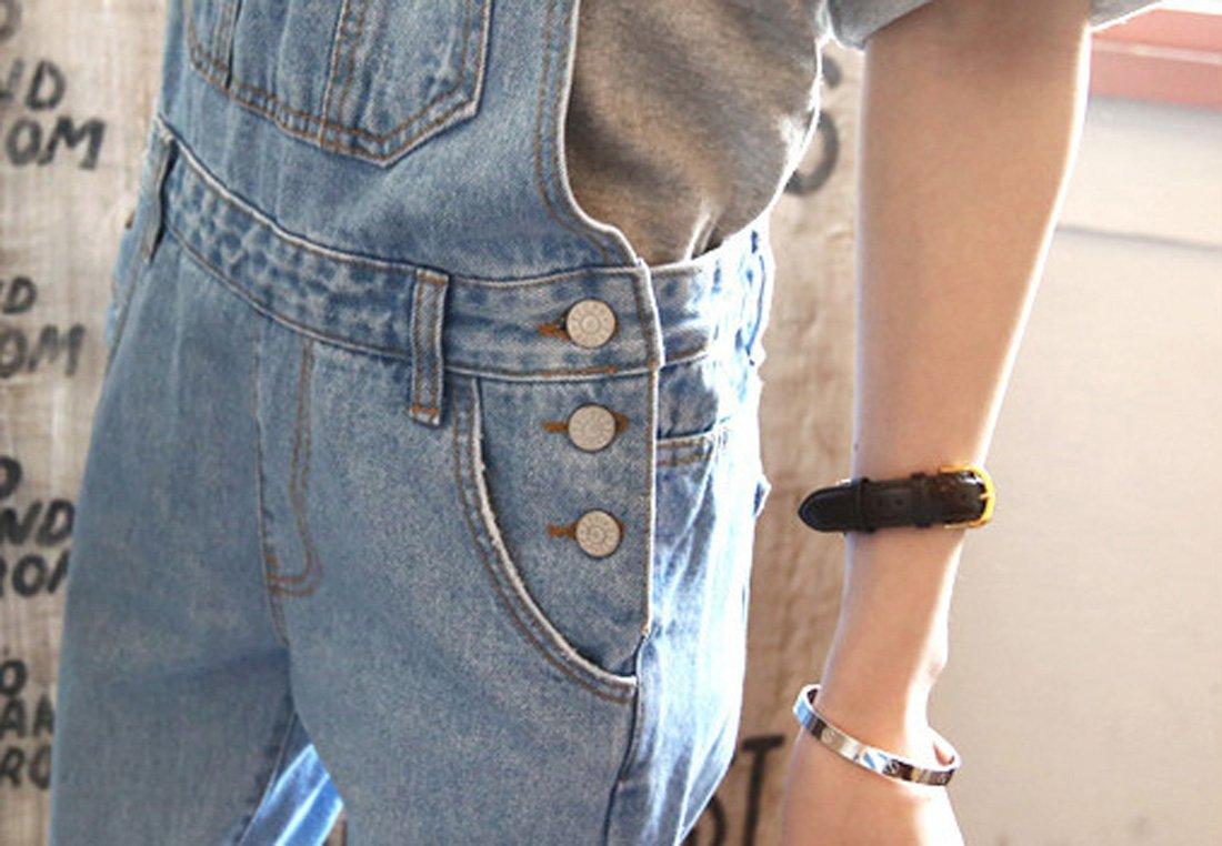 VSVO Vintage Teenagers Loose Overalls 1