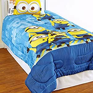 despicable me 2 minions comforter twin home