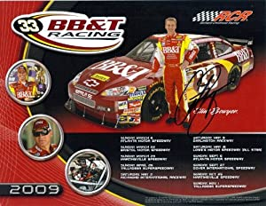 Buy 2011 Clint Bowyer #33 Cheerios Racing Pre-Race 8X10 Photo SIGNED by Trackside Autographs