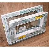 Kellerfenster kunststoff fenster dreh kipp 50 x 40 cm for Fenster 60x40