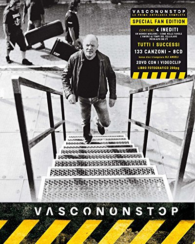 Vasco Non Stop (Box Fan Edition - 9CD + 2DVD + Libro Fotografico 200 pagine)