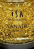 XANADU 24K Gold Vitamin C Serum Hyaluronic Acid Vitamin E Rose Serum Night Day Moisturizer and Foundation Primer by ISA Professional