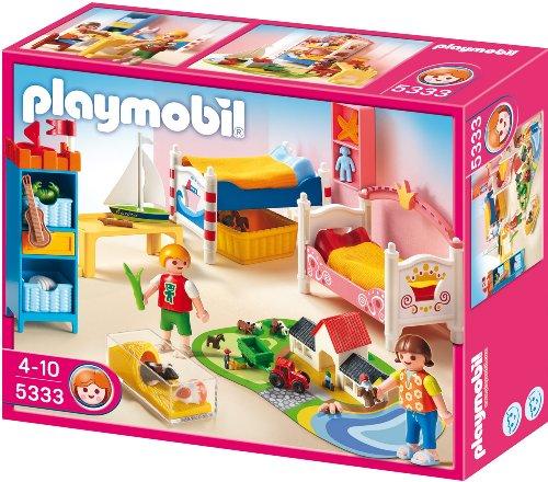 Playmobil fr hliches kinderzimmer 5333 preisvergleich for Kinderzimmer playmobil