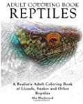 Adult Coloring Books Reptiles: A Real...