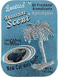 Exotica Treasure Scent New Car Air Fresheners - 28 g