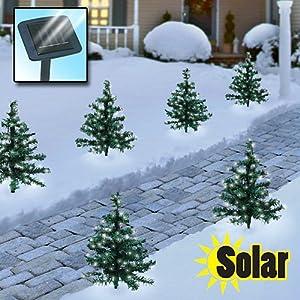 Amazon Solar Christmas Trees Landscape Path Lights