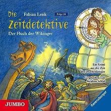 Der Fluch der Wikinger (Die Zeitdetektive 24) Hörbuch von Fabian Lenk Gesprochen von: Stephan Schad