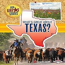 What's Great About Texas? | Livre audio Auteur(s) : Amanda Lanser Narrateur(s) :  Intuitive