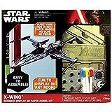 Star Wars X-Wing 3D Paper Airplane Kit