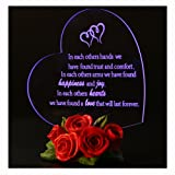Giftgarden Heart Shaped LED Light (Color: Led0241-l7)