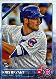 2015 Topps Kris Bryant Rookie Card (RC) #616 - Chicago Cubs - MLB Trading Card In a Protective Screwdown Case