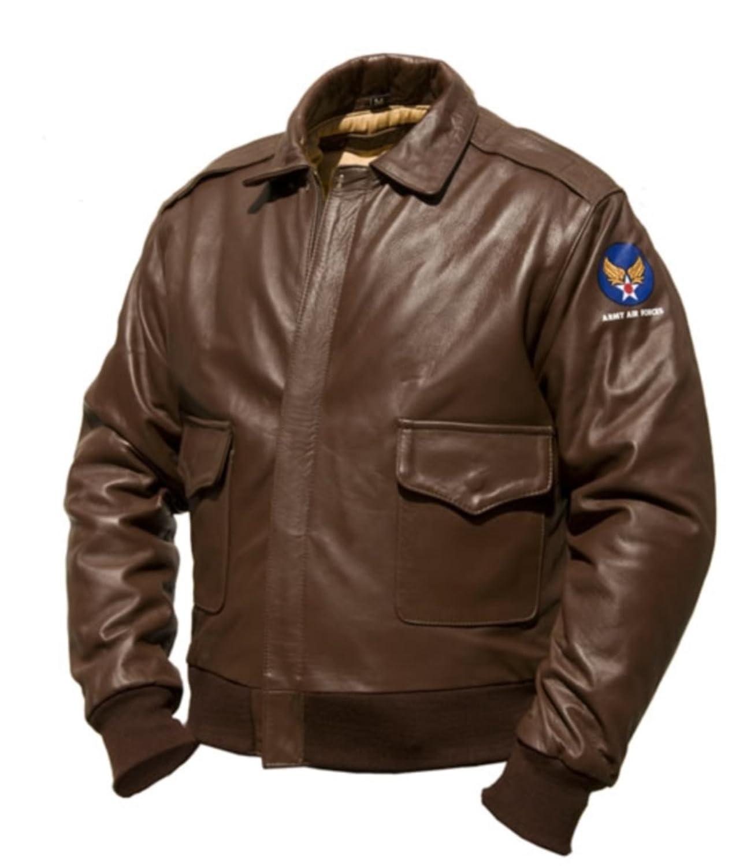 A-2 Intermediate Flying Jacket, Pferdeleder günstig kaufen
