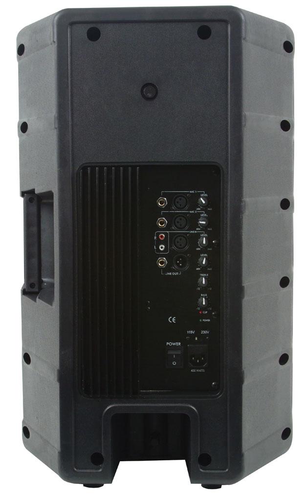 american audio dls15p powered 15 inch 2 way speaker musical instruments. Black Bedroom Furniture Sets. Home Design Ideas