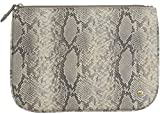 Stephanie Johnson Tanzania Flat Pouch, Grey, Large