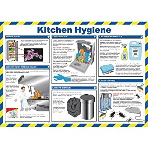 Kitchen Hygiene For Caterers Poster 840 X