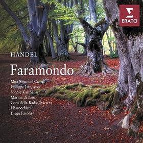 Faramondo, HMV 39, Act 3: Scene ultima:Rec. Figlia, di Faramondo (Gustavo, Rosimonda, Faramondo)-Aria. Virt� che rende (Faramondo, Coro)