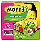 Mott's Snack & Go Original Applesauce, 3.2 oz pouches (Pack of 24)