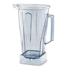 Vitamix 758 64 Oz Clear Polycarbonate Container without lid or blades