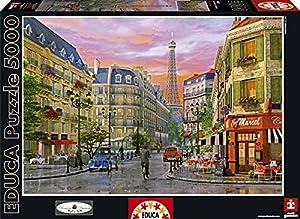 Educa Borras Puzzle Rue Paris Dominic Davison (5000 Pieces)