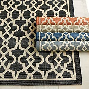Amazon Beaufort Indoor Outdoor Rug Gray 3 x 5