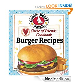 Circle of Friends Cookbook - 25 Burger Recipes