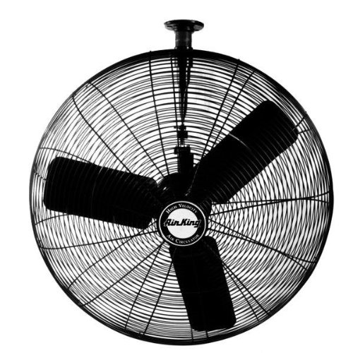 Air King 9335 1/4 HP Industrial Grade Oscillating Ceiling Mount Fan, 30-Inch