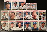 2013 New York Yankees Topps Heritage Baseball Complete Mint 16 Basic Card Team Set; It Was Never Issued in Factory Form. Cards Included Are Derek Jeter #190, Joe Girardi #21, Curtis Granderson #50, Alex Rodriguez #69, Ivan Nova #86, Robinson Cano #100, Brett Gardner #151, Kevin Youkilis #275, Rafael Soriano #296, David Robertson #339, Mark Teixeira #360, Phil Hughes #380, Andy Pettitte #391, Eduardo Nunez #422, A.l. Bombers Card #331 with Alex Rodriguez and Robinson Cano and 2013 Yankees Rookie Stars Card #281 with Adam Warren and Melky Mesa.