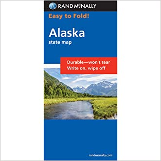 Rand McNally Easy to Fold: Alaska (Laminated) (Easyfinder Maps)