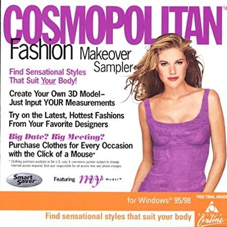 Cosmopolitan Fashion Makeover Sampler (Jewel Case)