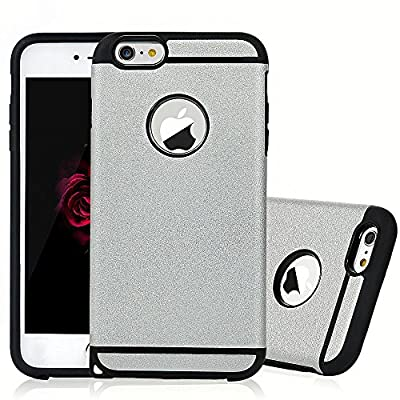iPhone 6S Plus Case, iPhone 6 Plus Case, CROSSTREE Fashion Double Layer Heavy Duty Protection Scratch Proof Armor Case for Apple Case Cover for Apple iPhone 6 Plus/ 6S Plus