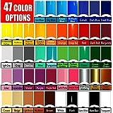 Vinyl Rolls (Oracal 651) Choose your colors 47 options (Cricut, Silhouette Cameo, Crafting Vinyl) (10 Rolls) (Tamaño: 10 Rolls)